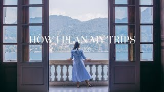 Travel Q&A • How I Plan my Trips, Best Travel Apps, Finding the Best AirBNBs