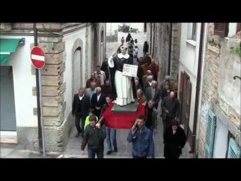 CALDARI-Processione in onore di San Vincenzo Ferreri
