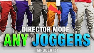 Director Mode Glitch Solo GTA 5 Modded Outfits Any Color Joggers