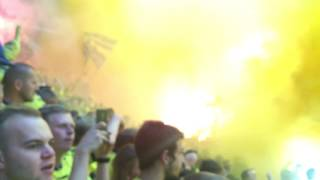 Brøndby - FCK 28. august 2016 Sydsiden Brøndby Stadion