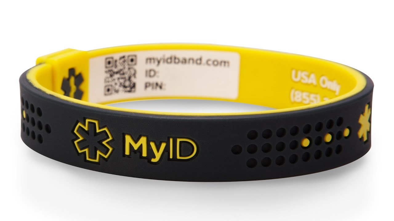 Myid The Bracelet That Can Save Your Life