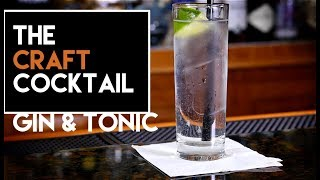 How To Make A Gin & Tonic / Easy Gin Cocktails thumbnail