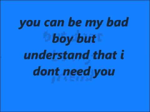 nightcore-bad boy lyrics