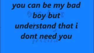 nightcore-bad boy lyrics
