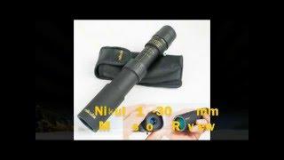 Nikula 10-30X 25mm Monosope, ( powerful image magnification) protable and durable