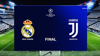 PES 2020 - Real Madrid vs Juventus - UEFA Champions League Final UCL Gameplay 2020/2021 Season