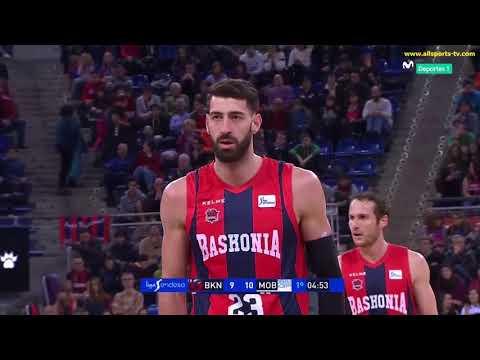 ACB J 10 / BASKONIA vs OBRADOIRO 1ª PARTE / ALLSPORTS