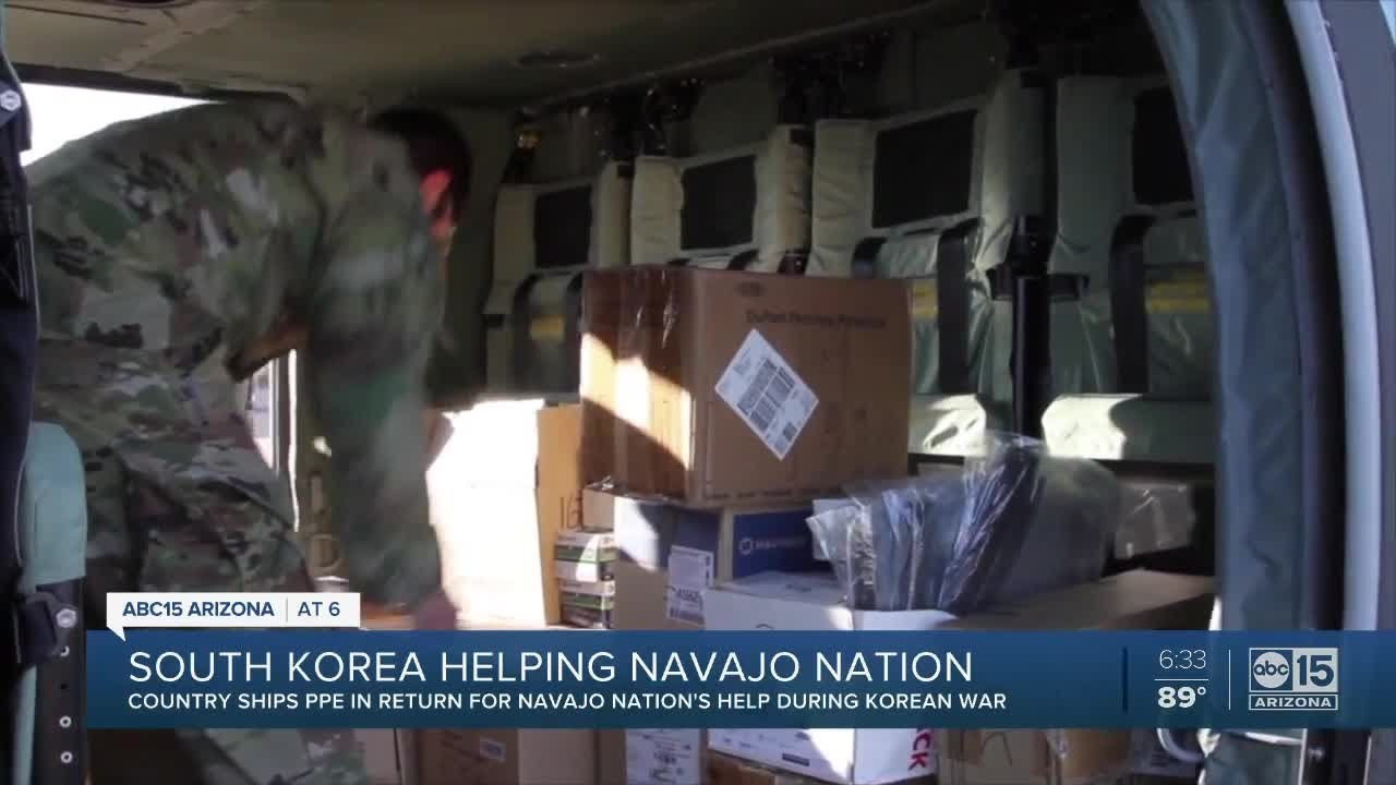 South Korea helping Navajo Nation