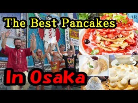 Osaka's Best Pancake House Cafe Osaka Food Guide Japan The fluffiest  絶対に行った方がいい大阪のパンケーキ屋さん