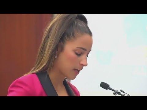 Aly Raisman addresses Larry Nassar, calls out U.S.A. Gymnastics in victim impact statement | ESPN