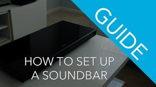 How To Connect a Soundbar To Your TV