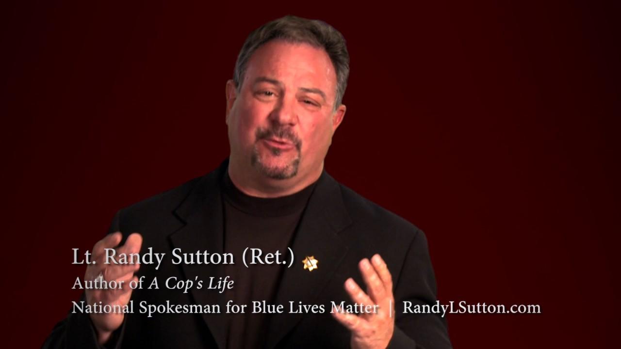 Image result for randy sutton blue lives matter