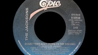 The Jacksons ~ Shake Your Body (Down To The Ground) 1978 Funky Purrfection Version