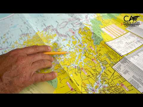 Plan Out Your Fishing Day On A Map - Flats Class University