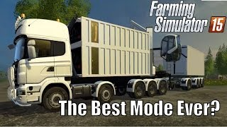 Biomass Heating Plant | Best Mod Ever? Farming Simulator 2015, Lantmannen Scaina Gameplay