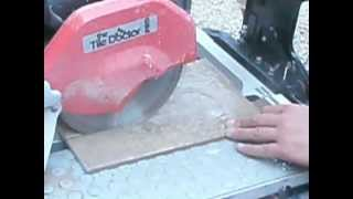 How to Cut Tile with a Water Saw by www.bandhtilegroup.com