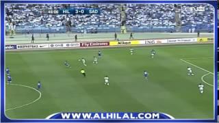 ملخص مباراة الهلال 5 - 0 السد القطري - دوري أبطال اسيا ج4