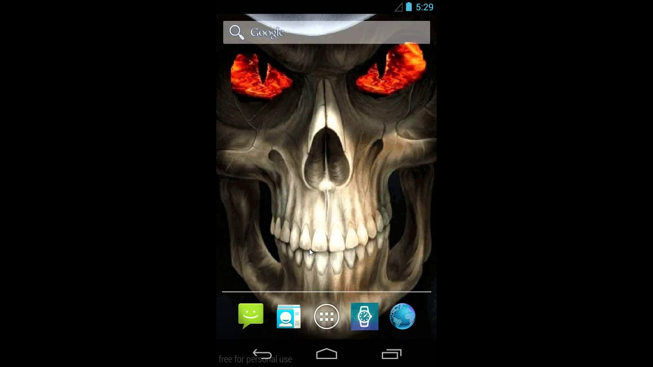 Grim Reaper Live Wallpaper Android - YouTube