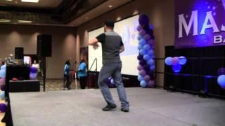 Fireball Line Dance demo by Will Craig
