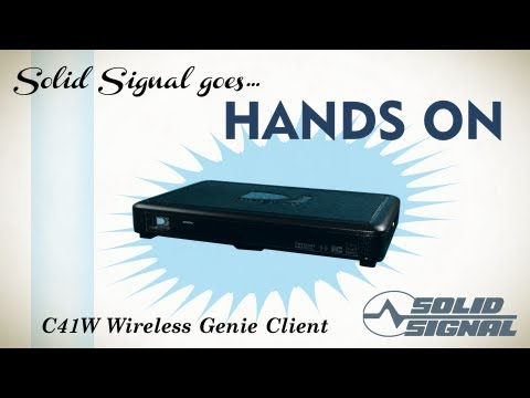 solid signal goes hands on directv cw wireless client solid signal goes hands on directv c41w wireless client