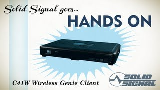 Solid Signal Goes Hands Directv C41w Wireless Client