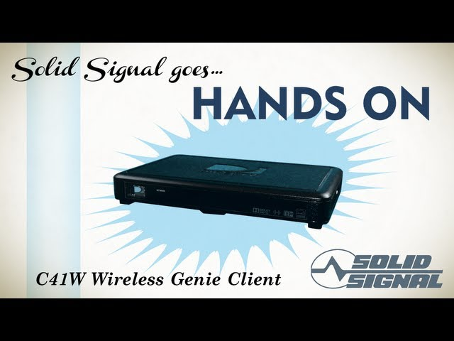 Solid Signal Goes Hands On Directv C41w Wireless Client Youtube