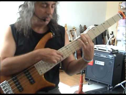 the girl of ipanema on tapping bass