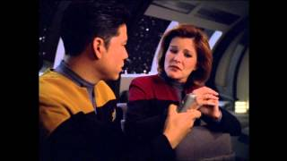 "Star Trek Voyager - Log entry From Harry Kim... To Harry Kim ""Timeless"""