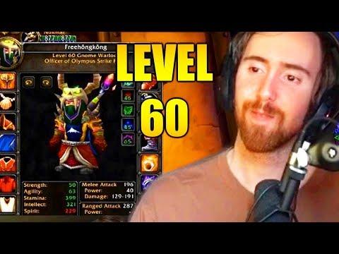 Asmongold Hits Level 60 On His Shameless Warlock