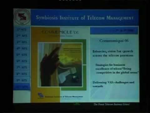 SITM, Asian Telecom Seminar,Communique 09,and SPONSORS, SITM PUNE.wmv