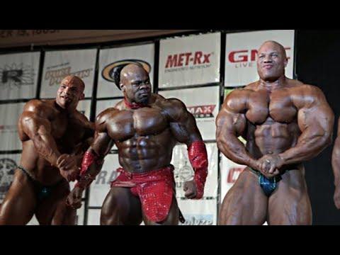 Big Ramy, Kai Greene and Phil Heath at the Pittsburgh Pro!