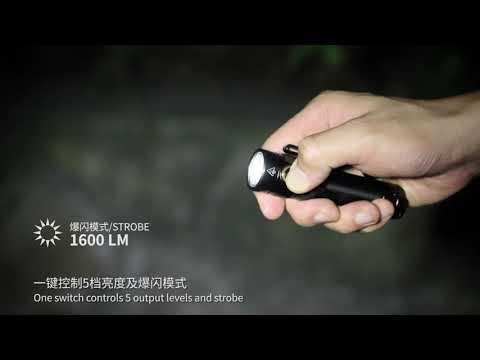 Senter Fenix E30R Flashlight LED Rechargeable