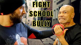 How do you Fight a school Bully | throat grab
