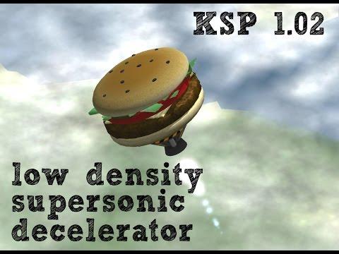 NASA Low Density Supersonic Decelerator - Kerbal Space Program Parody