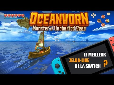 OCEANHORN | LE MEILLEUR ZELDA-LIKE SUR SWITCH ? | GAMEPLAY & PRESENTATION