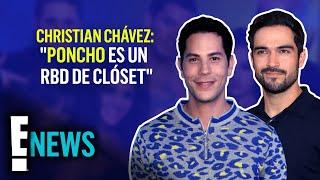 Christian Chávez llama a Poncho Herrera un RBD de clóset y esta es la razón