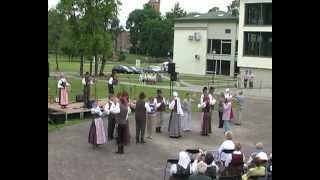 FOLKLORO ŠVENTĖ BIRŠTONE. Kelmės folkloro ansamblis TADUJA. Antra dalis