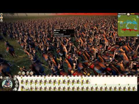 Total War: Shogun 2 BIGGEST BATTLE EVER! |