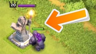 Clash of Clans - NEW STATUE DEFENSE GAMEPLAY! Town Hall 11 Grand Warden Update (CoC Grand Warden)