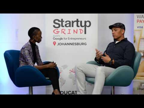 Stafford Masie (Thumbzup) at Startup Grind Johannesburg