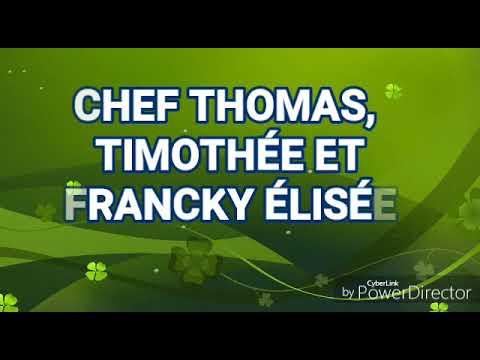 CHEF THOMAS, TIMOTHÉE ET FRANCKY ÉLISÉE Assena
