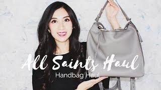 All Saints Handbags Haul – Mod Shots 2019 | Alexastylebook