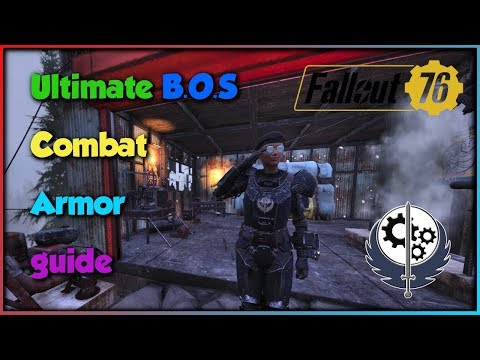 Fallout 76, Ultimate Combat Armor Guide: BOS Legendary Heavy Armor thumbnail