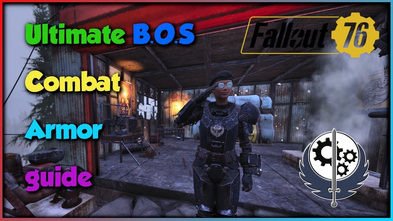 Fallout 76, Ultimate Combat Armor Guide: BOS Legendary Heavy Armor