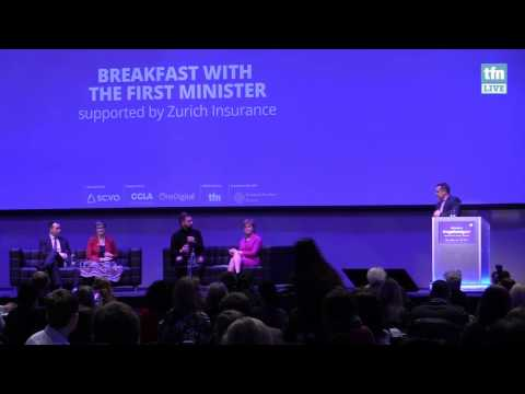 Breakfast with the First Minister, Nicola Sturgeon MSP