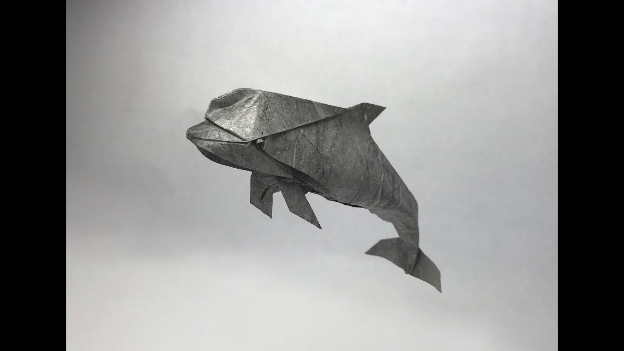 Origami - dolphin (tutorial)