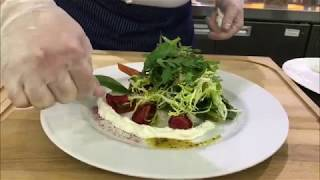 Рецепт легкого летнего салата с рикоттой