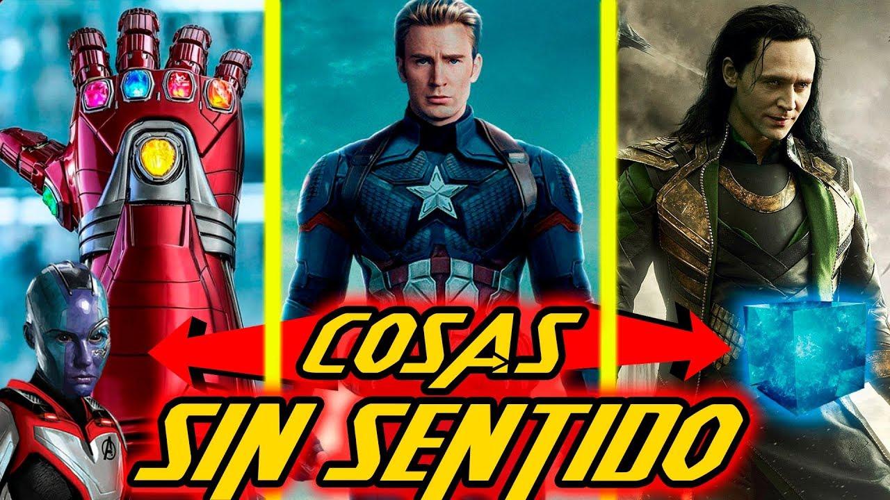 TODOS Los SIN SENTIDOS De Avengers END GAME!