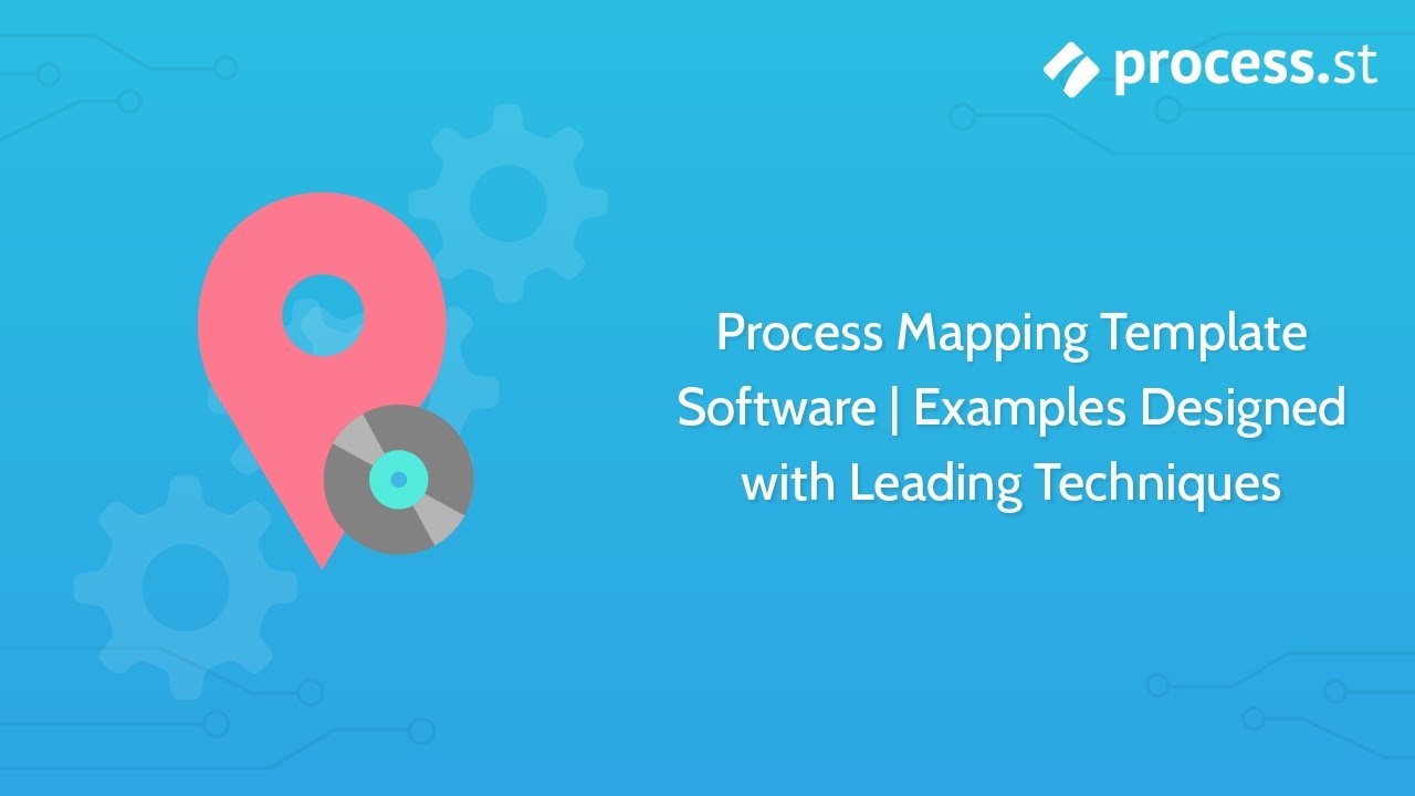Process Mapping Template Software | Examples Designed with Leading ...