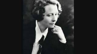 "Edna St. Vincent Millay reads ""Ballad of the Harpweaver"""